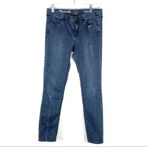 Madewell Denim Leggings Skinny Leg Size 28 Blue